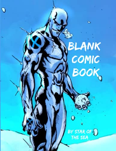 Blank Comic Book: Blank Comic Book For Kids Or Adults! 100 Pages! (Blank Comic Book Series)