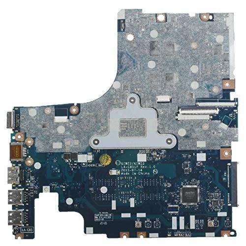 TOPOU Plato Principal Piezas de Repuesto para computadoras portátiles FIT FOR Lenovo IDEAPAD 500-15ISK I7-6500U PLATABOUDA PLATABOUDA LA-C851P 216-0864010 Placa Base portátil DDR3