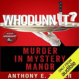 Whodunnit?: Murder in Mystery Manor  audiobook cover art