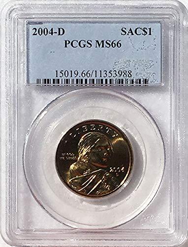 2004 D Sacagawea Dollar MS 66 Blue Label PCGS
