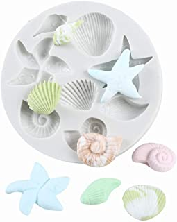 Seashell Sea Shell Silicone Cake Mould Fondant Chocolate Soap Mold Tools Decor DIY Craft Mold for Cake Cupcake