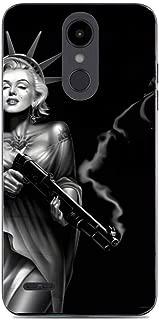 Liberty Marilyn Monroe with A Gun Flexible Slim Soft Gel Protector Case for LG Aristo 2