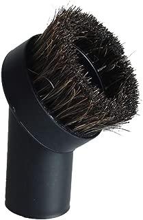 GIBTOOL Replacement Round Dusting Brush Soft Horsehair Bristle Vacuum Attachment 1.25