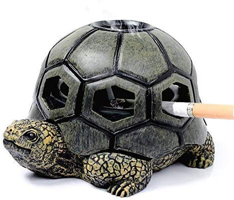 BINGFANG-W Ashtrays Japan Maker Portland Mall New Ashtray Turtle Living Personality with Cover