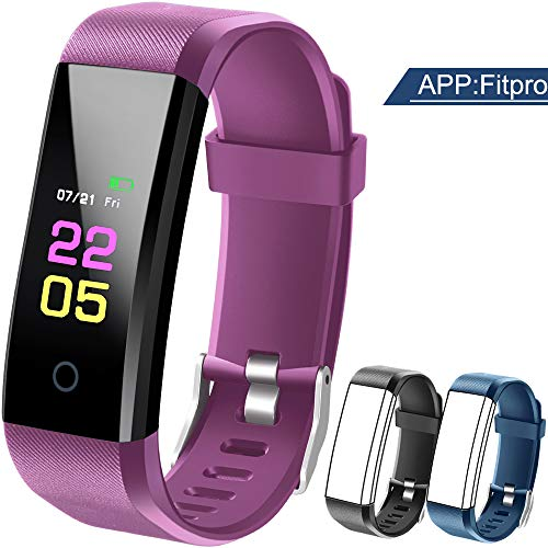 Fitness Trackers-kids Fitness Tracker Watch With Heart Rate...