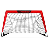 RUNNZER Portable Soccer Goal, Soccer Nets for Backyard Training Goals for Soccer Practice with Carry...