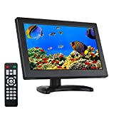 Eyoyo 12 Inch 16:9 Mini TFT LCD HDMI HD Monitor Screen 1366x768 Resolution with HDMI VGA BNC AV Input for PC Display