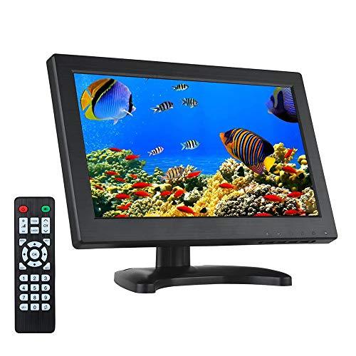 Eyoyo 12 Inch 16:9 Mini TFT LCD HDMI HD Monitor Screen 1366x768 Resolution with HDMI VGA BNC AV Input for PC Display