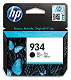 HP 934 C2P19AE Cartuccia Originale per Stampanti a Getto di Inchiostro, Compatibile con OfficeJet 6820; OfficeJet Pro 6230 e 6830, Nero