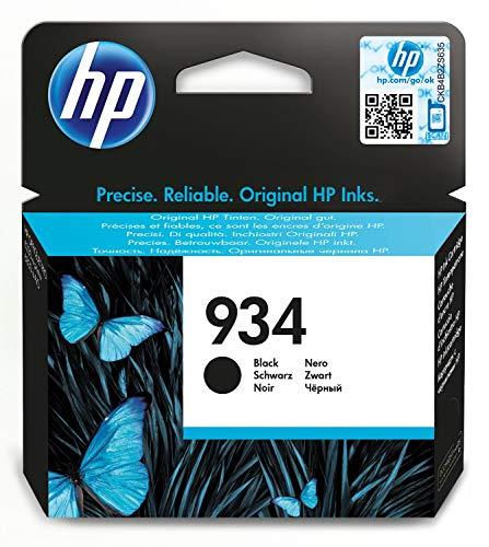 HP 934 C2P19AE Cartuccia Originale per Stampanti a Getto di Inchiostro, Compatibile con OfficeJet 6820; OfficeJet Pro 6230 e 6830, Nero