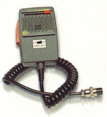 Zetagi M95Power microfono MIC Gain + Roger Bleep cobra/Uniden/Superstar