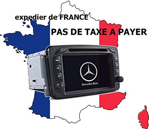 Autoradio GPS Mercedes Class c, CLK, vito, Viano