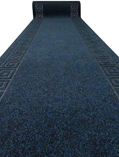 Casatessile Alfombra Grek Inca 68 cm de Ancho y Largo BLU