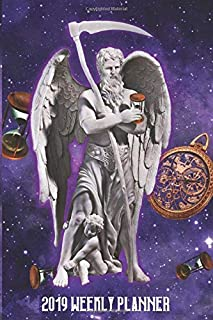 Chronos Father Time: 2019 Weekly Planner: 6