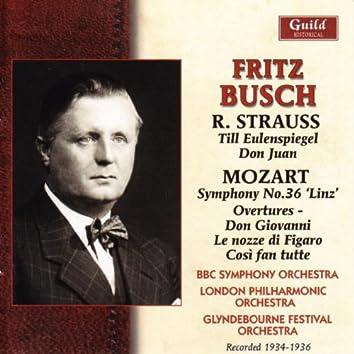Busch - Strauss & Mozart - 1934-36