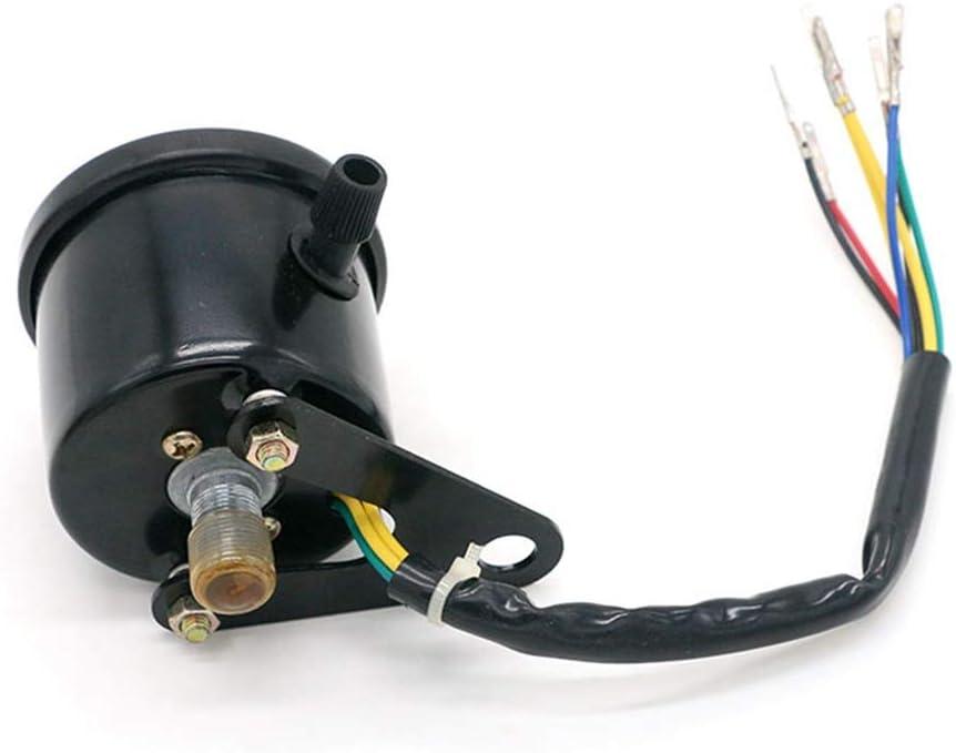 HONGPA 0-180 KM//H Motorcycle Odometer Tachometer for Motorbike