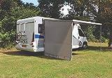 Paroi latérale universelle avec fenêtre pour camping-car, store banne ETCT0018.220