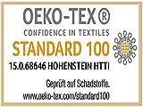 Sensalux Tischdeckenrolle, 1,18m x 25m, abwaschbare Vliesdecke, Oeko-TEX Standard 100 - Klasse I Zertifiziert, Grau - 2
