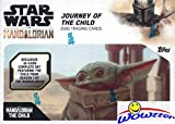 2020 Topps Star Wars: Mandalorian Journey of the Child Factory Sealed Box! Features the First Ever Cards of BABY YODA! Includes Complete 25 Card Set, 5 Illustrated Cards & 2 Parallel Cards! WOWZZER!