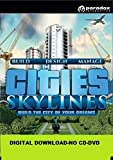 Cities Skylines PC Steam Download Code . No CD/DVD/Box. Code will be mailed to the buyer.The Code can be entered in Steam & full game can be downloaded in your Steam account. Kindly make sure your PC/Laptop meets the Recommended System Requirements n...