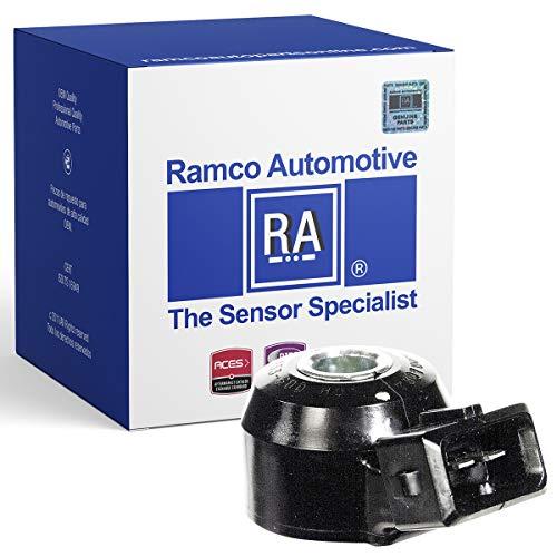 Ramco Automotive, Ignition Knock (Detonation) Sensor, Compatible with Wells SU2074, Standard Motor Products KS79 (RA-KS1001)