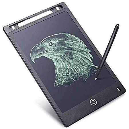 RYLAN Portable LCD Writing Board Slate Drawing Record Notes Digital Notepad with Pen Handwriting Pad Paperless Graphic Tablet for Kids at Home School, Writing Pads, Writing Tablet