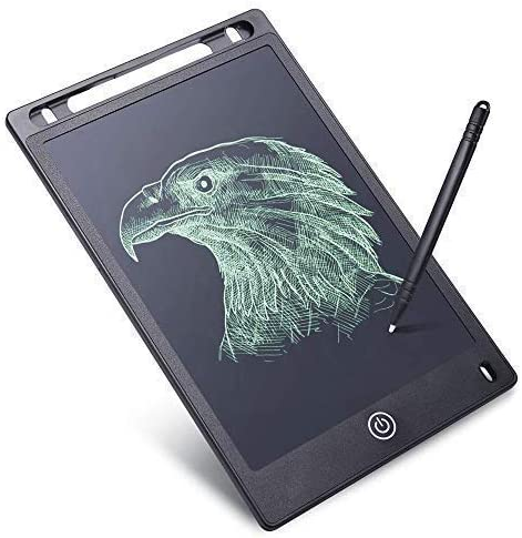 RYLAN Portable LCD Writing Board Slate Drawing Record Notes Digital Notepad with Pen Handwriting Pad Paperless Graphi...