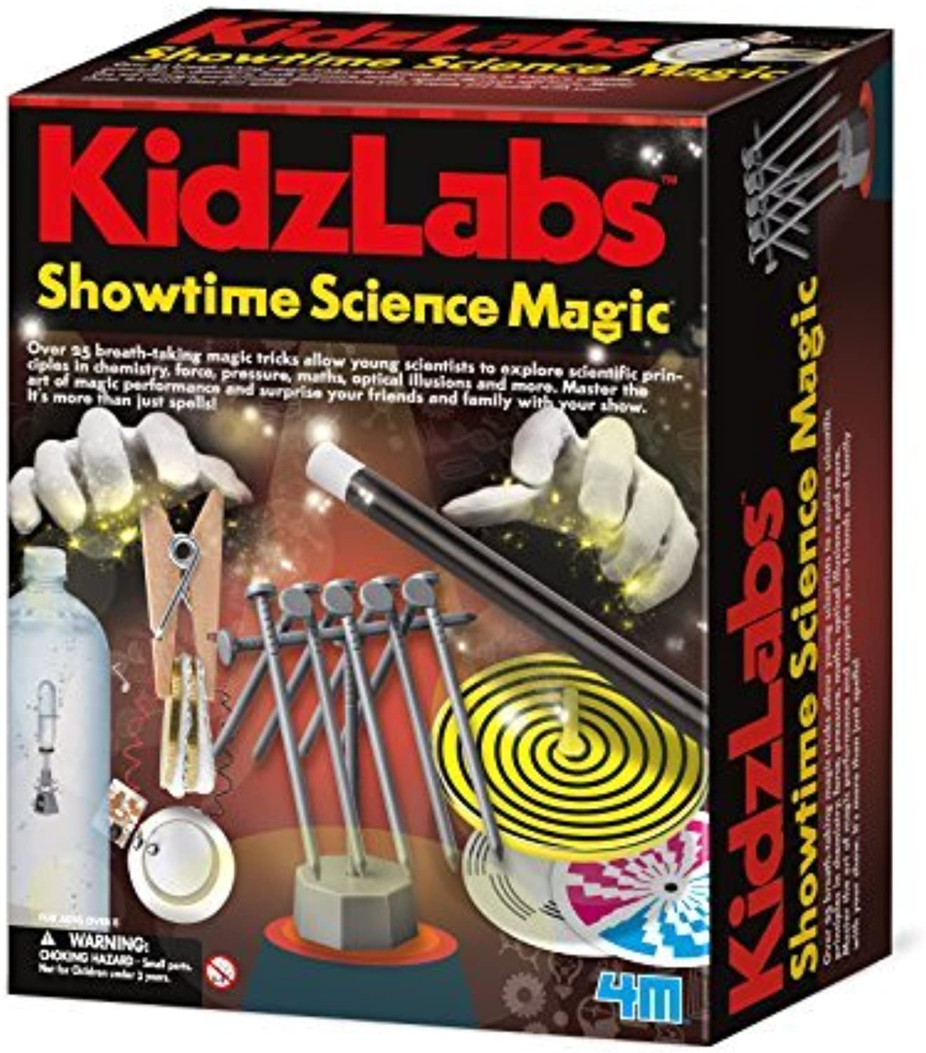 4M Showtime Science Science Science Magic Kit by 4M c34162