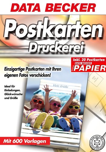 Postkarten-Druckerei inkl. Papier