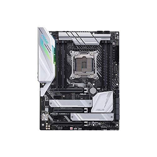Asus Prime X299-A, Intel LGA 2066 ATX Mainboard mit m.2-Heatsink DDR4 4000MHz, Dual m.2, Intel Vroc, SATA 6GB/s, USB 3, 1 Gen 2 Frontpanel