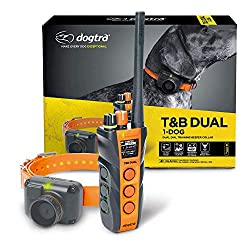 Dogtra T&B Dual 1-Dog Long Range 1.5-Mile Expandable Dual DIAL Training & Beeper Remote Dog Training E-Collar for Upland Gun Dog