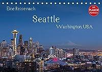Eine Reise nach Seattle (Tischkalender 2022 DIN A5 quer): Seattle, groesste Stadt des Nordwestens der USA. Vielfaeltig, gruen und industriell. (Geburtstagskalender, 14 Seiten )