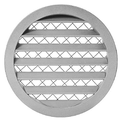 Ø 80 mm aluminium ventilatierooster afzuigrooster rond rooster