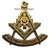 Masonic Past Master Collar Emblem 3' for Past Master Regalia GF