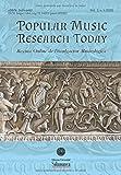 Popular Music Research Today. Revista Online de Divulgación Musicológica: Vol. 2, n. 1 (2020)