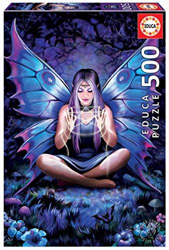 Educa 18998, Spell Weaver, 500 Teile Puzzle für Erwachsene und Kinder ab 10 Jahren, Fantasy, Anne Stokes, bunt