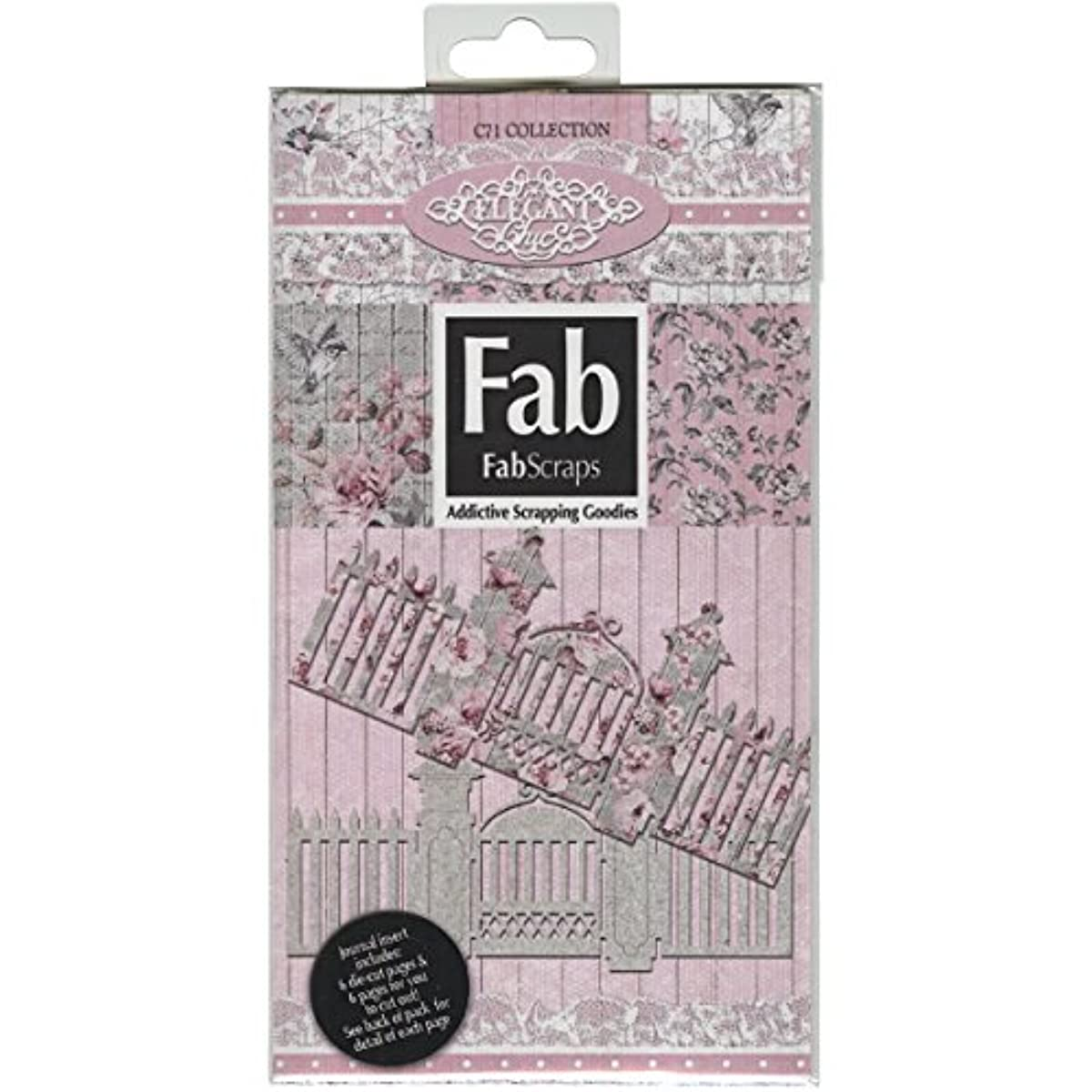 FabScraps Elegant Chic Journal Pack