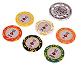 Poker Chips Color: Multi color Product Dimensions (L x B x H): 56 cm x 25 cm x 7 cm Mode of Operation: Manual; Recommended Use: Indoor Target Gender: Unisex Adults