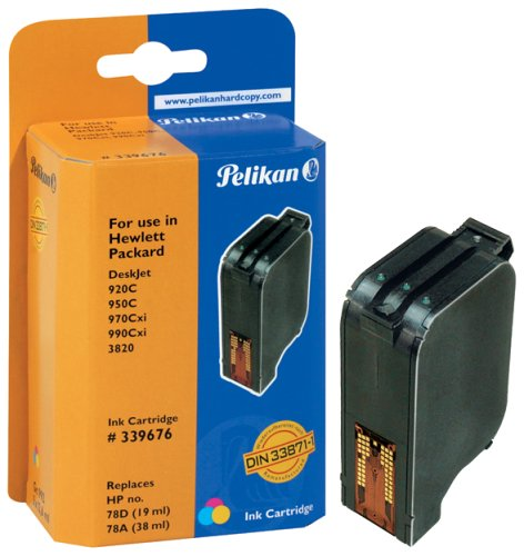 Pelikan H11 C6578A Druckerpatrone (ersetzt HP 78) 3-farbig