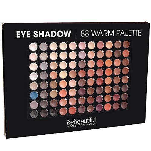ALINCAS Eyeshadow 88 Shades Palette, Warm