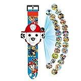 N-B Paw Patrol Toy Watch Cute 3D Projection Cartoon Orologio per Bambini Personaggi Anime Ragazzi RagazzeOrologio diCompleannoGiocattoli per Bambini