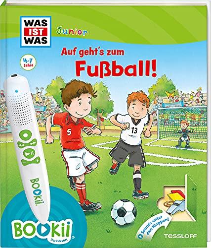 BOOKii® WAS IST WAS Junior Auf geht´s zum Fußball!: Über 600 Hörerlebnisse und interaktive Spiele! (BOOKii / Antippen, Spielen, Lernen)