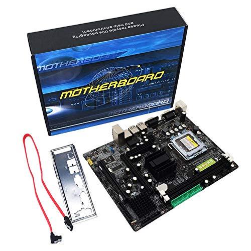 Peanutaoc Professional 945 moederbord 945GC+ICH Chipset ondersteuning LGA 775 FSB533 800MHz SATA2 poorten Dual Channel DDR2 geheugen