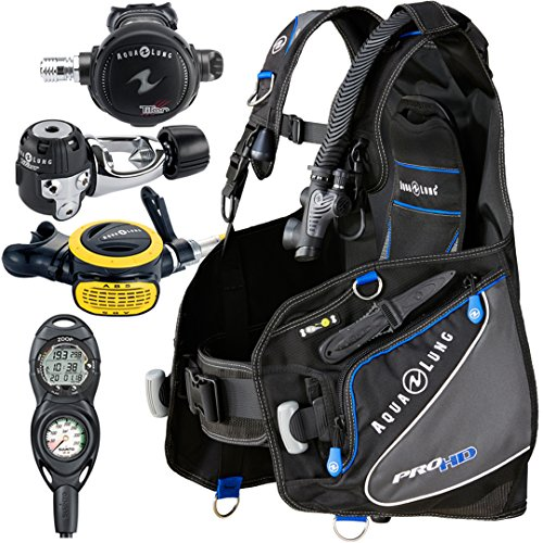 Aqua Lung Pro HD BCD i300C Dive Computer Titan / ABS Regulator Set