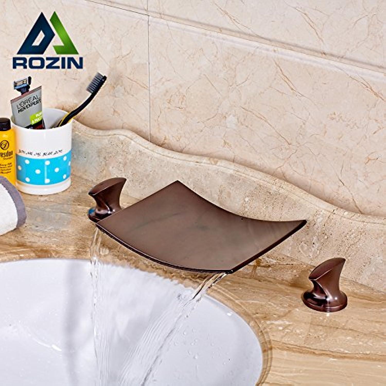 Maifeini Die Luxurisen Deck Installieren Doppelte Griffe Der Wasserfall Badewanne Kurve Waschtisch Armatur Wasserhahn Wasserfall Bad Armaturen