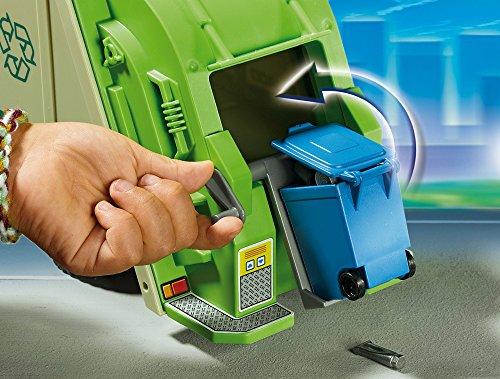 Camion Recyclage Vert Playmobil Ensemble de Jeu 5679 - 4