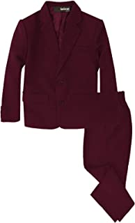 boys burgundy suit