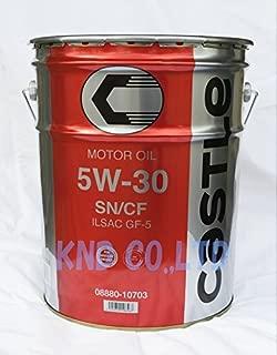 TOYOTA エンジンオイル キヤッスル SN/CF 5W30 20L 08880-10703