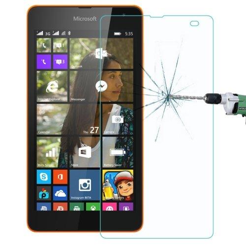 Panzerglas für Microsoft Lumia 535 Bildschirm Schutz Echt Glas Panzer Folie Tempered Glass 9H Schutzglas Echtglasfolie Bildschirmschutzfolie