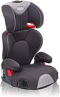 Graco Logico L Autositz mit hoher Rückenlehne, Gruppe 2/3 (ca. 4 bis 12 Jahre, 15-36 kg), Eisen
